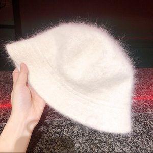Vintage JESSICA brand rabbit hair bucket hat